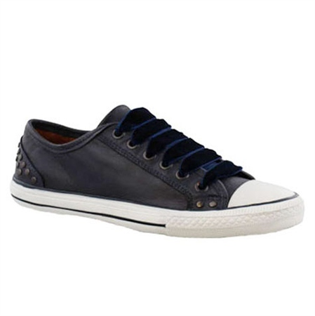 Navy Lace Up Leisure Shoes - Carina