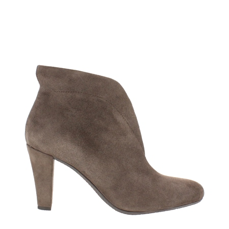 d6289743189 Belladona Taupe High Heel Ankle Boots