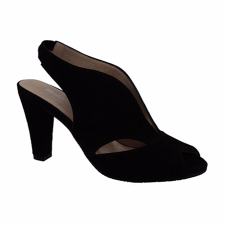 6fea125fdf18 Delia Black High Heel Courts