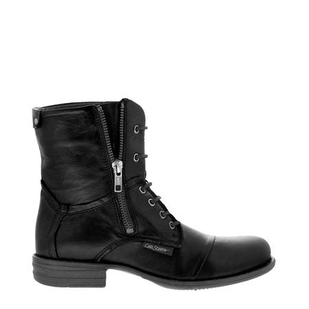 Pilar Black Ankle Boots