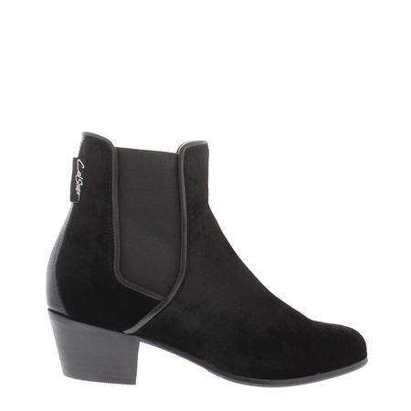 83715830d51 Black Low Heel Chelsea Ankle Boots - Claudia - EUR 36 - UK 3