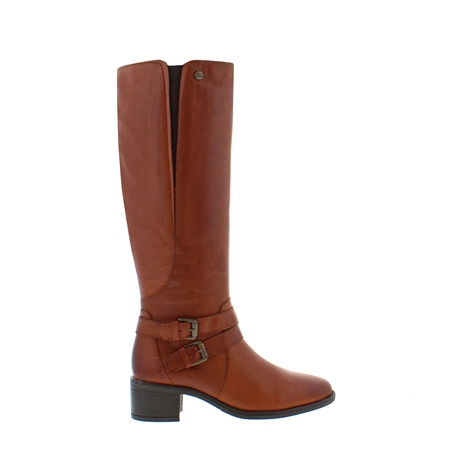 Azaria Tan Knee-High Boots