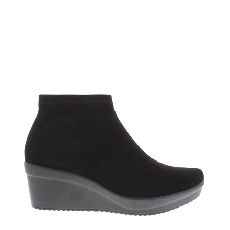 Luma Black Ankle Boots  - Click to view a larger image