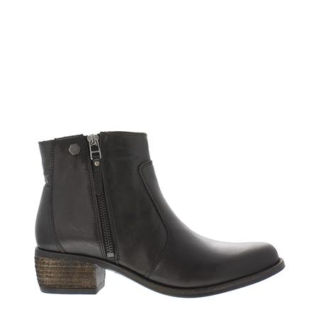 bf9978041b3 Lauren Black Low Heel Ankle Boots - EUR 36 - UK 3