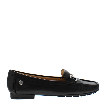 Beila Black Loafers  - Click to view a larger image