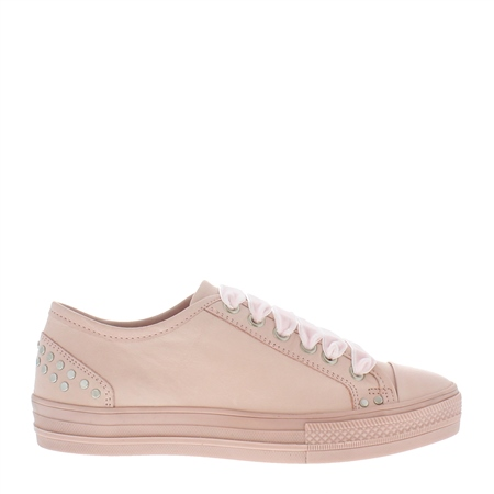 Rose Lace Up Leisure Shoes - Carlotta