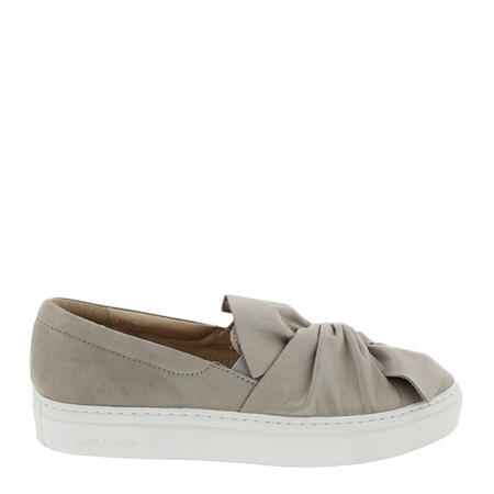 Grey Slip-On Leisure Shoes - Ellie  - Click to view a larger image