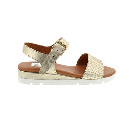 Crisanta Gold Sandals  - Click to view a larger image
