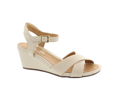 Ophelia Beige Sandals  - Click to view a larger image