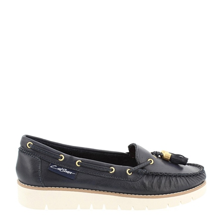 Roxie Navy Loafers  - Click to view a larger image
