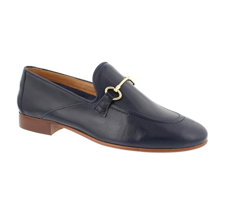 Valentina Navy Loafers  - Click to view a larger image