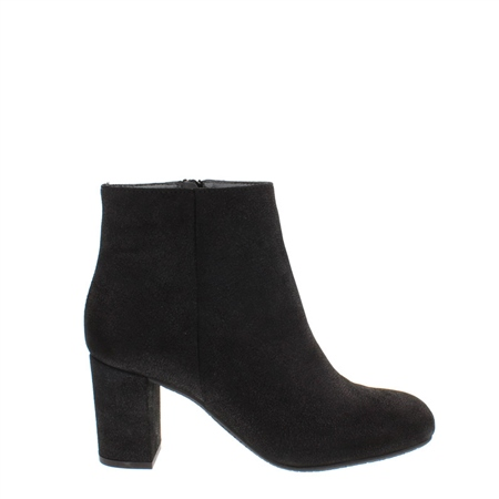 Antonia Black Lustre Ankle Boots  - Click to view a larger image