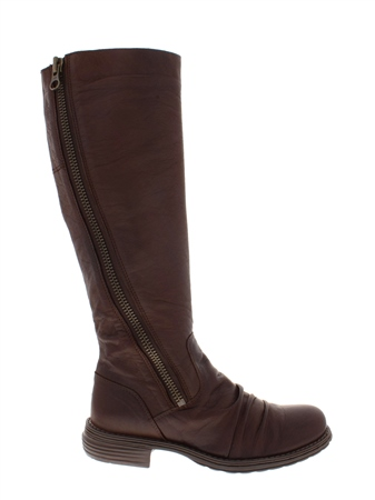 Alegria Brown Leather Boots  - Click to view a larger image
