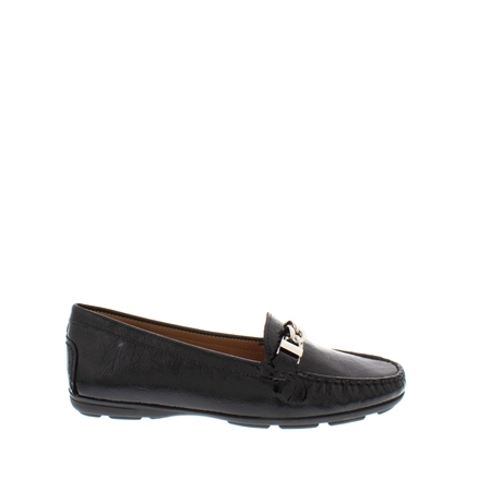 8741661e0cc Alvina Black Patent Leather Loafer