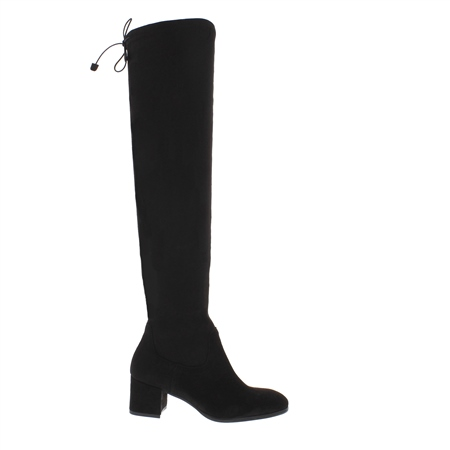Taliah Black Over-The-Knee Boots