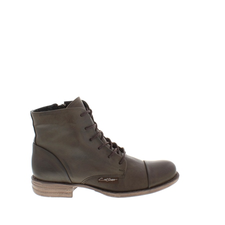 Dana Khaki Ankle Boots  - Click to view a larger image