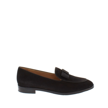 Areta Black Loafers  - Click to view a larger image