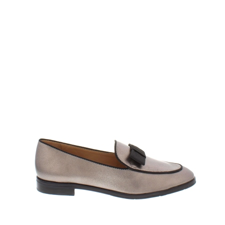 Areta Metallic Loafers  - Click to view a larger image