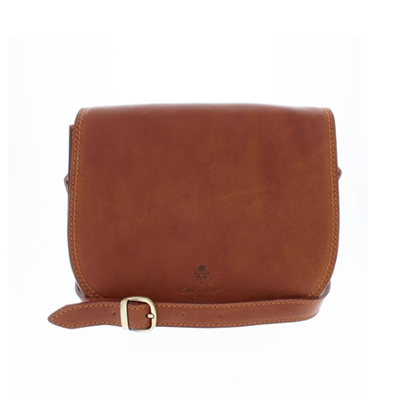 Rosalinda Tan Leather Bag  - Click to view a larger image