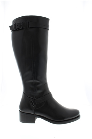 Kielsey Black Lether Boots  - Click to view a larger image