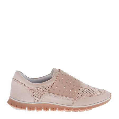 Emeline Rose Slip-On Trainers  - Click to view a larger image