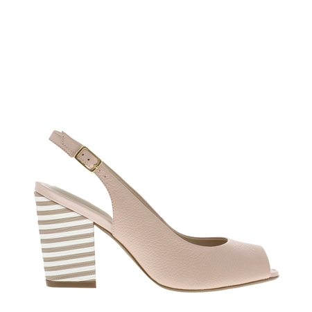 5897ffccec Primo Nude Block Heel Courts | Exclusive styles of Loafers, Sandals, Boots  and accessories at CarlScarpa.com