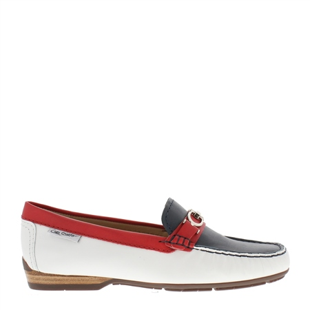 Hazelle Nautical Loafers  - Click to view a larger image