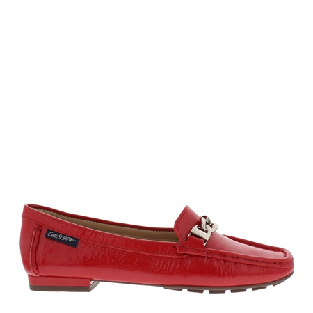 Heidi Red Loafers  - Click to view a larger image
