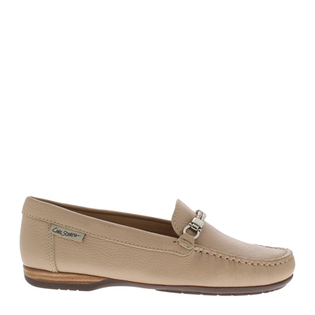Helga Beige Loafers  - Click to view a larger image