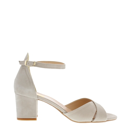 Faustina Beige Sandals  - Click to view a larger image