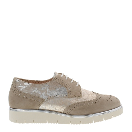 Orazia Beige Loafers  - Click to view a larger image