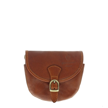 Sienna Tan Leather Bag  - Click to view a larger image