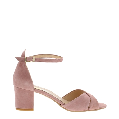 Faustina Rose Mid-Heel Sandals  - Click to view a larger image