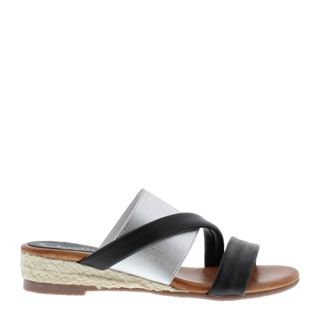 Waverly Black Sandals  - Click to view a larger image