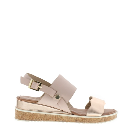 Wynita Beige Sandals  - Click to view a larger image
