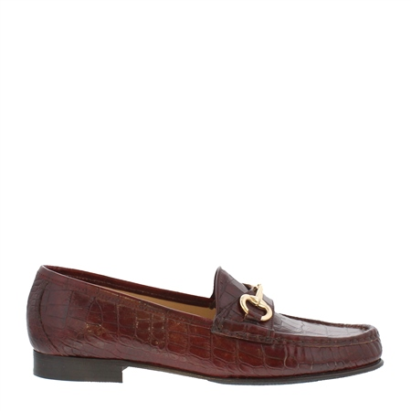 Finelle Burgundy Leather Loafers 1