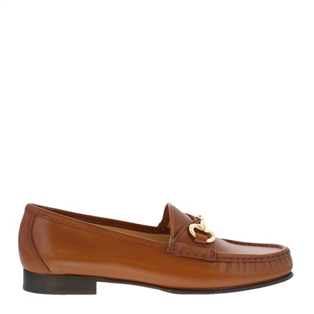 Finelle Tan Leather Loafers  - Click to view a larger image
