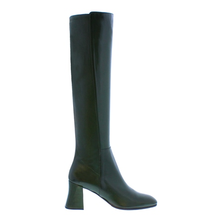Jill Green Leather Boots  - Click to view a larger image