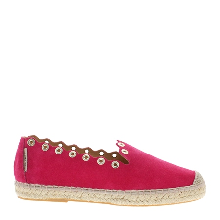 Chloe Fuchsia Espadrilles  - Click to view a larger image