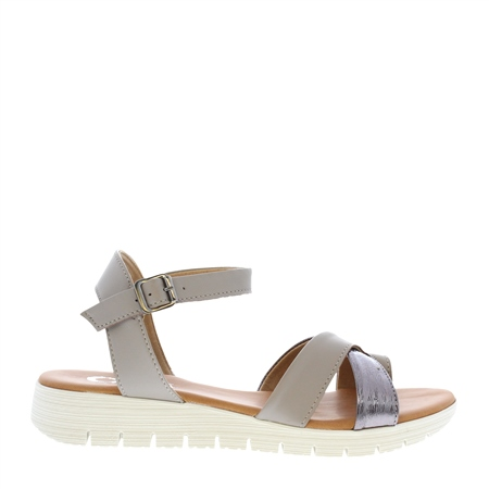 Dorothea Taupe Sandals  - Click to view a larger image