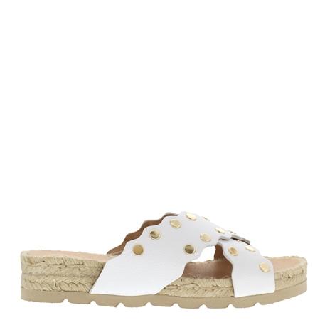 Oxanna White Sandals