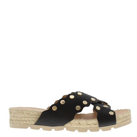 Oxanna Black Sandals