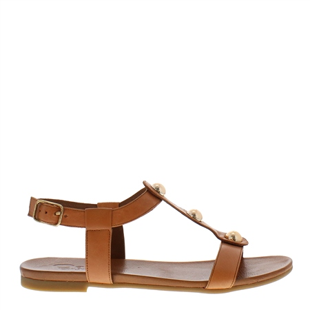 Esme Tan Gladiator Sandals  - Click to view a larger image
