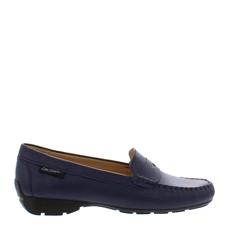Alicia Navy Loafers