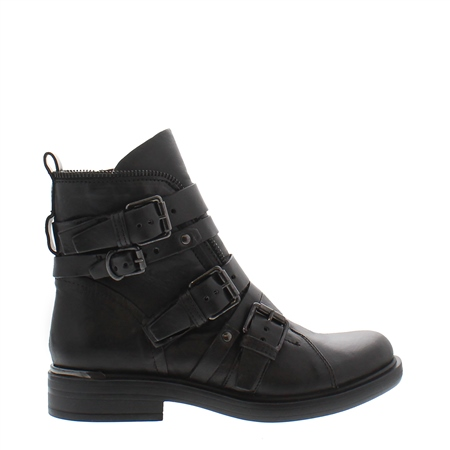 Ardella Black Ankle Boots  - Click to view a larger image