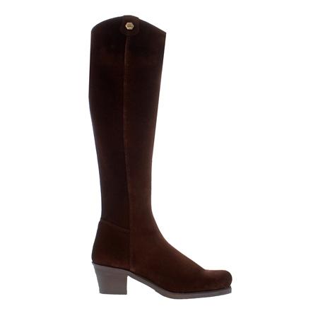 Viola Brown Suede Boots