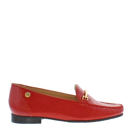 Idris Red Loafers