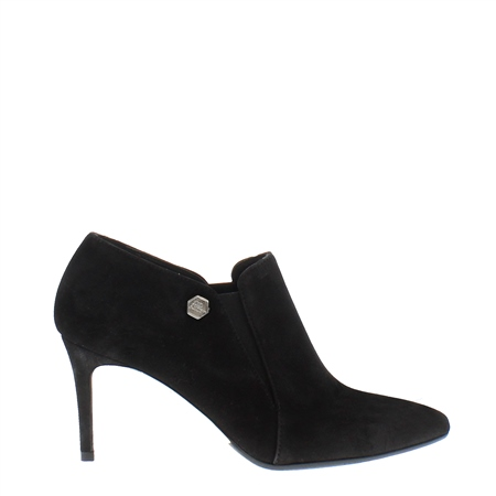 Marldonna Black Suede High Heel  - Click to view a larger image