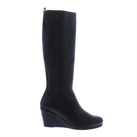 Angelina Wedge Knee High Boots  - Click to view a larger image