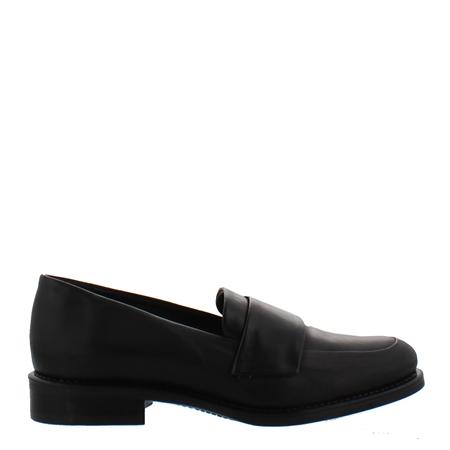Poppy Flat Black Loafers